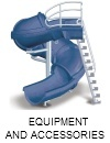 Swimming pool additional equipment and accessories